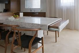 Beautiful and Durable Granite Dining Table for the Kitchen Space ...