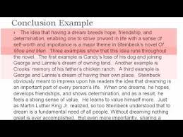 thematic essay the conclusion thematic essay 4 the conclusion