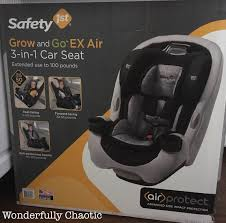 the safety 1st grow go ex air is amazing instead of ing multiple seats this one seat can be used rear facing forward facing and as a booster