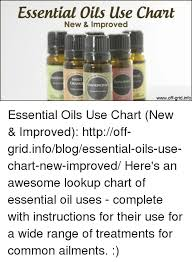 Essential Oils Uses Chart Essential Oils Use Chant New Improved Sweet Rosemars