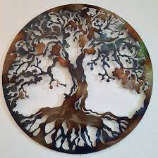 Choose from contactless same day delivery, drive up and more. Amazon Com Tree Of Life Metal Art Large Wall Decor 36 Inches Heat Colored Everything Else