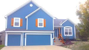 blue exterior paintProfessional Exterior Painting Lees Summit Blue Springs  ANEWHUE