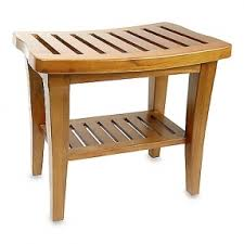 image quarter bamboo bathroom stool teak wood shower bench  among many other teak