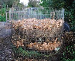 garden compost. add layers as your kitchen and garden generate them compost
