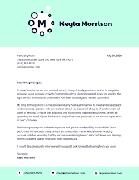 Letter To Business Template 10 Cover Letter Templates And Expert Design Tips To Impress