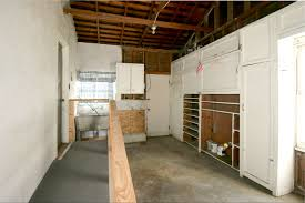 attached one car garage with ramp utility sink laundry s and lots