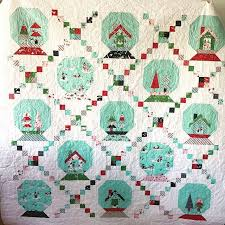 35 best My Christmas Quilts images on Pinterest | Christmas ideas ... & Mary Pat did a great job piecing this adorable Snow Globe quilt ! Pattern  and fabric by Tasha Noel. I quilted it with snowflakes ❄️ Adamdwight.com
