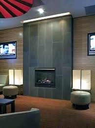 modern fireplace tile. Modern Tile Fireplace Contemporary Cast Concrete Tiled