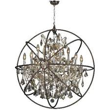 armillary 13 lamp chrome golden teak flemish brass 33 foucault s orb chandelier