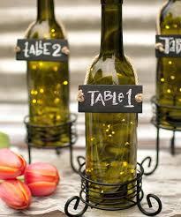 bottle centerpieces wedding wine bottle table number holder beer bottle  centerpieces weddings