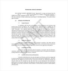 Service Agreement Contract | Oakandale.co