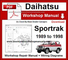 daihatsu sportrak wiring diagram wiring diagram options daihatsu sportrak wiring diagram wiring diagram load daihatsu feroza electrical diagram daihatsu sportrak wiring diagram