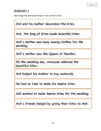 KING OF THE KITES~YEAR 4 SHORT STORY