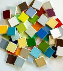 Circle Tiles Ceramic 35 Plume Sheeted Mosaic Tile Modwalls Designer Tile
