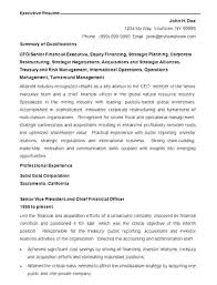 Best Executive Resume Format Enchanting Resume Examples For Executives Hflser