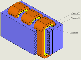 Трехфазный трансформатор описание технические характеристики  Трехфазный броневой трансформатор