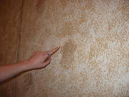 sponge painted wall