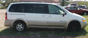 1999 Pontiac Montana mini van | Item O9339 | SOLD! Friday Oc...