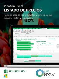 Formato De Lista De Precios Plantilla De Lista De Precios En Excel Plantilla Para