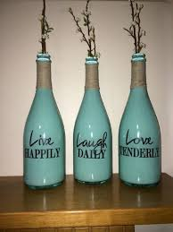 Decoration Ideas With Glass Bottles
