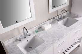 bathroom vanities tops choices choosing countertops: lovely bathroom vanities with tops made of granite material with double sinks also faucets