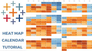 Calendar Chart In Tableau Tableau Heat Map Calendar