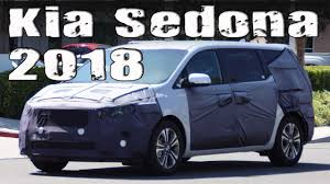 2018 kia minivan. brilliant kia new 2018 kia sedona mpv facelift and kia minivan a