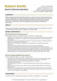 Technical Proficiency Resumes Account Technician Resume Samples Qwikresume