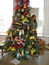School themed Christmas tree