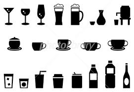 飲み物 ドリンク アイコン セット イラスト素材 3495406 フォト