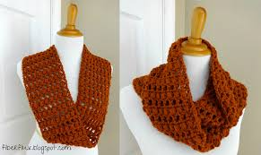 Free Crochet Patterns For Scarves Best Fiber Flux Free Crochet PatternGinger Snap Infinity Scarf