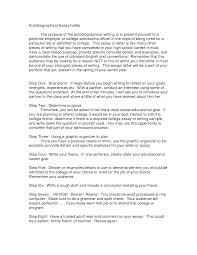 college biography essay example homework for you college autobiographical essay examples via