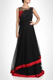 Designer Gown In Black Colour Black Color Designer Gown Couture Dresses Gowns