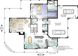 House Plan W3832 Detail From DrummondHousePlanscomFour Car Garage House Plans