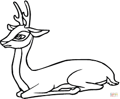 Small Picture Roe Deer coloring pages Free Coloring Pages