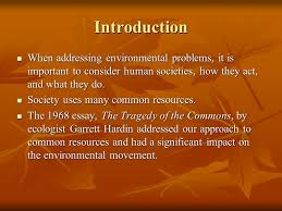 environmental science chapter science and the environment  introduction when addressing environmental problems it is important to consider human societies how they