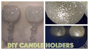Image Crystal blingqueen homedecordiy dollartreedecor Dhgate Diy Frosted Candle Holders Elegant Candle Holders Dollar Tree