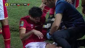 إصابة محمد هاني ودخوله مرة أخرى أمام بركان