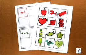 Thousands of free preschool worksheets & printable activities. Learn Kindergarten Colors With Color Sorting Mats