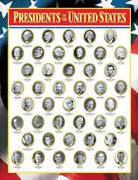 Us Presidents Wall Chart Presidents Creative Teaching