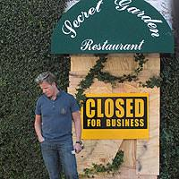 kitchen nightmares the secret garden closed reality tv revisited