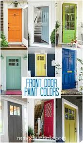 painted residential front doors. Fine Residential Front Door Paint Colors Remodelaholic More Intended Painted Residential Doors T