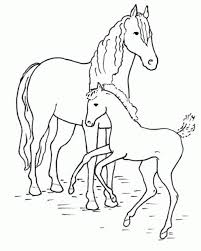 Small Picture Coloring Pages Running Horse Coloring Page Free Printable
