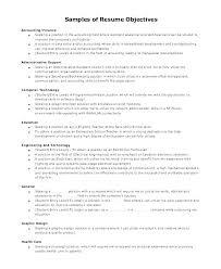 Resume Objective Writing Entry Level Resume Objectives Sample Resume