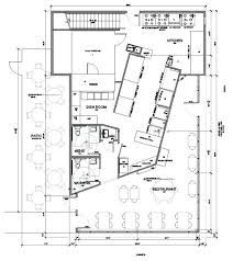 Kitchen Floor Plan Layout Restaurant Floor Plans With Dimensions
