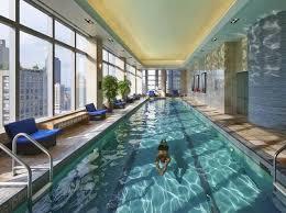 beautiful indoor pools. Plain Pools Mandarin Oriental  New York City United States In Beautiful Indoor Pools U