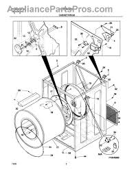 frigidaire 134101400 terminal block appliancepartspros com part diagram
