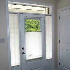 door glass and sidelight window coverings modern entry