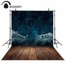 Allenjoy <b>Professional photography background</b> Cloud blue moon ...