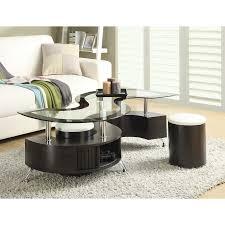 Wade Logan Jonathan  Piece Coffee Table Set  Reviews Wayfair - Coffee table with chair